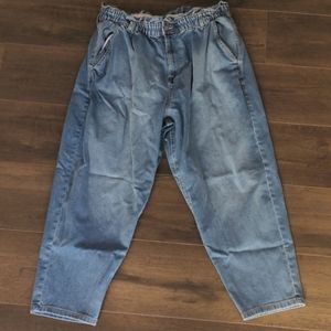 NoBo Paperbag Cropped Jeans 3XL (21)